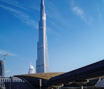 The Burj Khalifa, tallest building in the world. Dubai, UAE